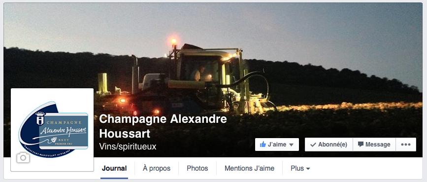 Champagne Alexandre Houssart Facebook
